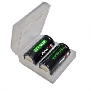 Контейнер для 2-х батарей (CR123A)