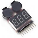 Бортовой сигнализатор разряда аккумулятора (1S-8S)